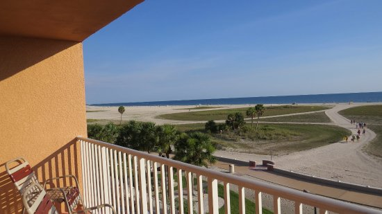 Surf Beach Resort Looking South Balcony View 406