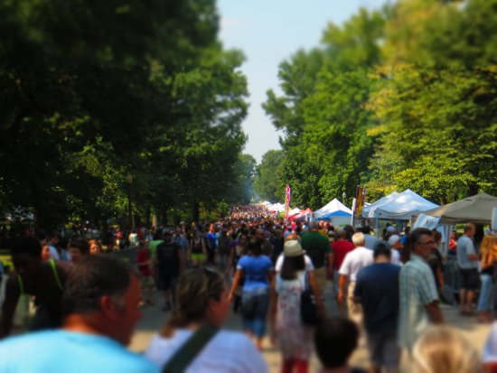 Festival of Nations -Tower Grove Park - Gallery of Food Booths