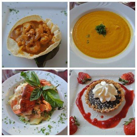 Seascape Coastal Retreat: Part of the 5 course meal - definitely do it! Best Meal on Cape Breton Island