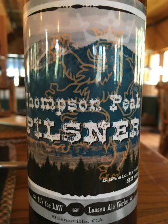 Drakesbad Guest Ranch: Nice local brew!