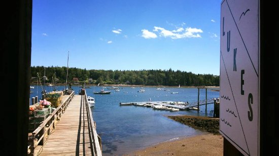 Tenants Harbor, ME: Active working dock