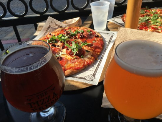 Stone Brewing Beers and Delicious Pizzas - Picture of The