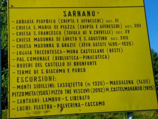 Sarnano, Italia: Cose da fare