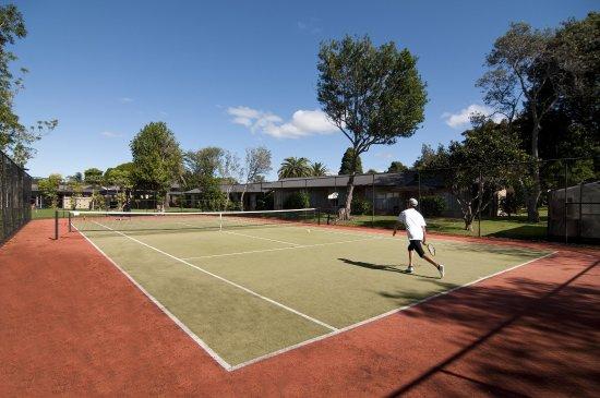 Waitangi, Nya Zeeland: Tennis Court