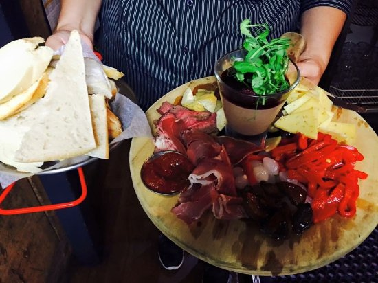 The Redoubt Bar and Eatery: Redoubt Antipasto platters