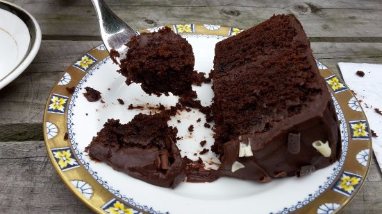 Whaley Bridge, UK: Chocolate Cake
