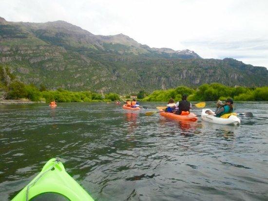 La Paz Patagonia: Alquiler Set-on-top kayaks