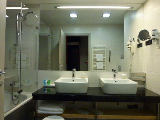 أتريوم هوتل: 洗面台が二つある