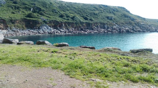 Lamorna, UK: The cove this week.