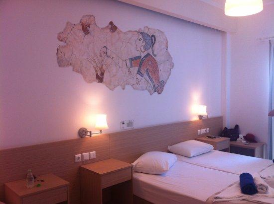 Hotel Hippocampus : The interior room decoration
