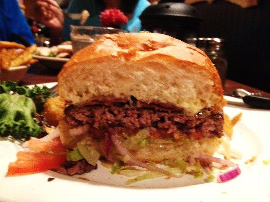 Prineville, OR: Wagyu beef burger