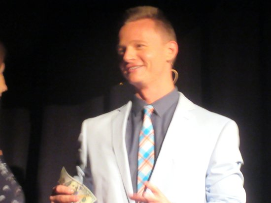 Joel Ward, Magician and Comic, The Loft Theatre, South Lake Tahoe, CA