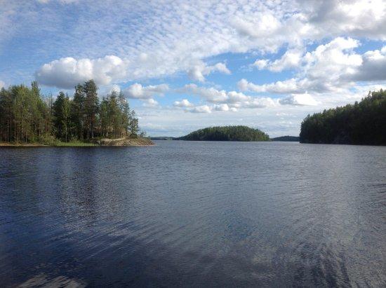 Taipalsaari, Finland: Виды с тропы умопомрачительные