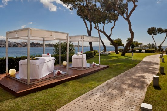 spa by clarins massage room picture of gran melia de mar calvia rh tripadvisor co uk