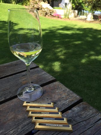 Constantia, Güney Afrika: Wine pairing with chocolates