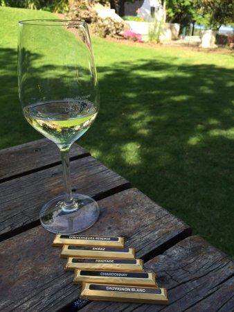 Constantia, Sydafrika: Wine pairing with chocolates