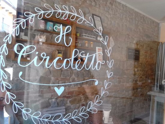 Entrance to cafe/bistro Il Circoletto in Cattolica, Italy <3