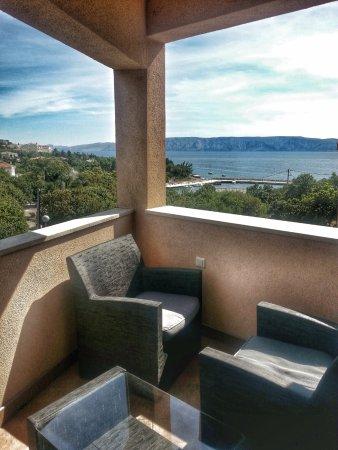 Casa del Sole: Wunderschöne Sicht aufs Meer und die Insel Krk