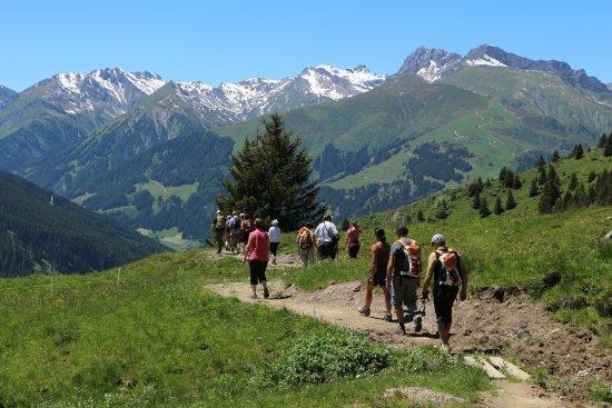 Hotel Alpenhof Hintertux: Geführte Wanderung mit Aussicht