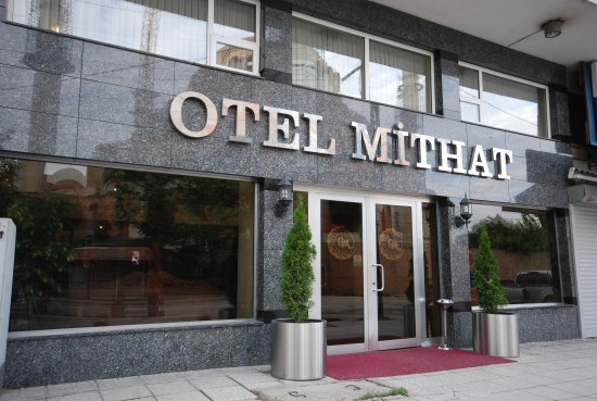 Hotel Mithat Entrance