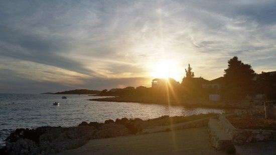 SPA Apartments Cvita Holiday: Sonnnenuntergang in der Bucht