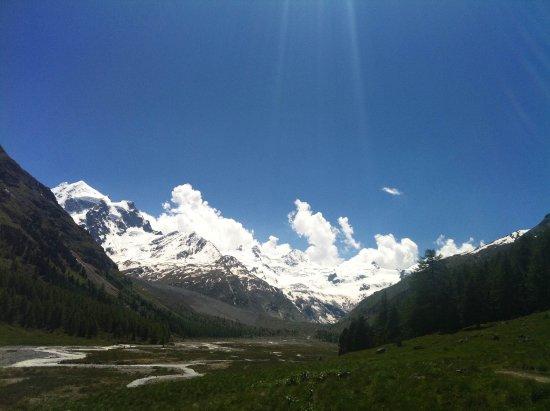 Madulain, Switzerland: paysage