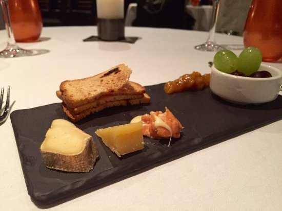 Dax Restaurant: Cheese sampler finale
