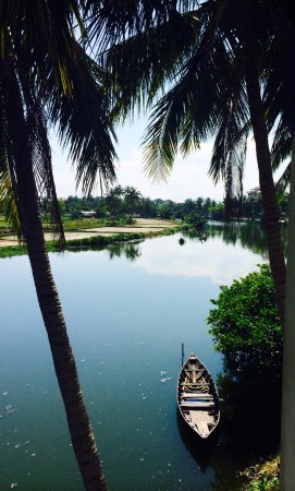 Hoi An Riverside Resort & Spa: View from room balcony
