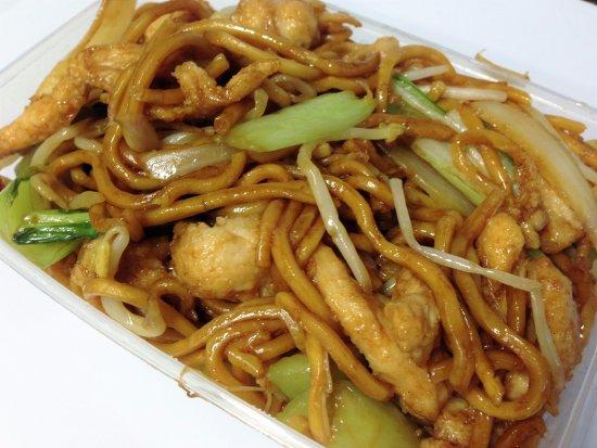 Greenwood, Australia: Chicken & Hokkien Noodles