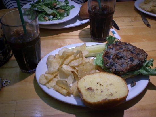 Viva burger (végétarien)
