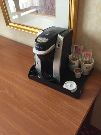 Holiday Inn Express Chicago O'Hare: Kaffemaskin