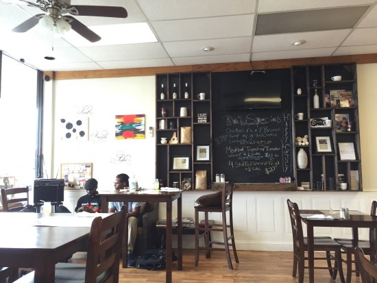 Echoes Café in the White Oak Shopping Center is a great addition to Tappahannock's lunch venues!