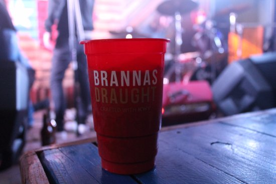 Potchefstroom, South Africa: Brannas Draught, Crafted with Kwv!!