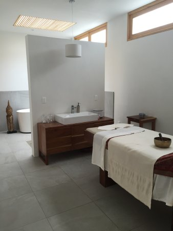 Malinalco, Mexico: One of the spa treatment rooms.