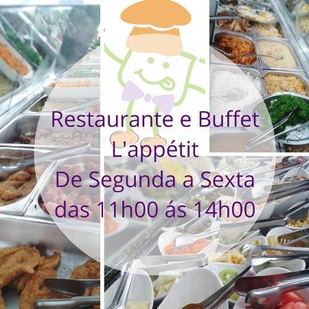 Cruzeiro, SP: Restaurante de Segunda a Sábado das 11h00 às 14h00 !!!