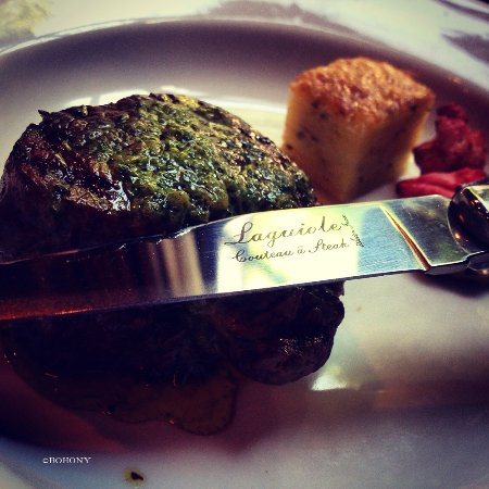 Broek in Waterland, Niederlande: steak