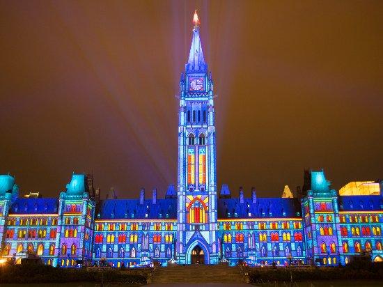 Ottawa, Canada: Northern Lights: Sound and Light Show