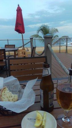 Sirena Risorante: Deck View at Sunset