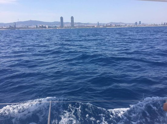 Business Yachtclub Barcelona: Barcelona from the sea