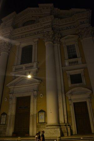 Class House : Vista desde la puerta del Hotel