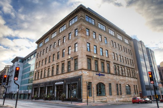 Hotel Indigo Glasgow: Hotel Indigo is a beautiful building, minutes from Central Station