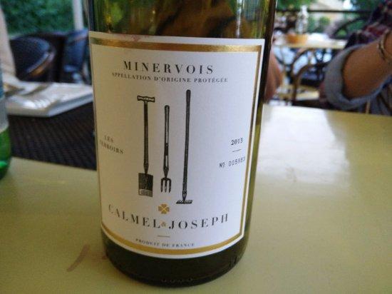 Trebes, Γαλλία: Minervois Wine