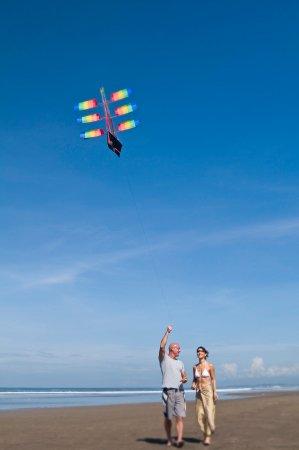 Anantara Seminyak Bali Resort : Kite Flying