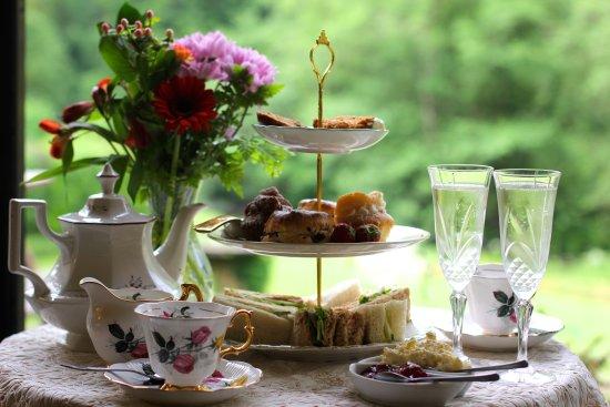 Dolbrodmaeth Riverside B&B: Afternoon tea anyone?