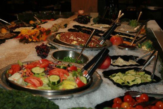 Soup Salad Bar Buffet Picture Of J Patricks Pub Restaurant