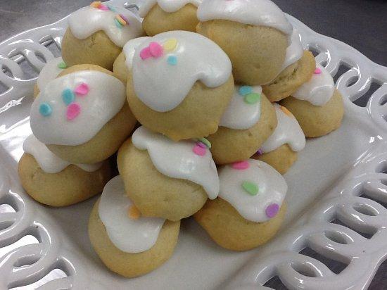 Marlton, Nueva Jersey: Italian iced sprinkle cookies