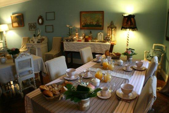 Friville-Escarbotin, Франция: petits déjeuner