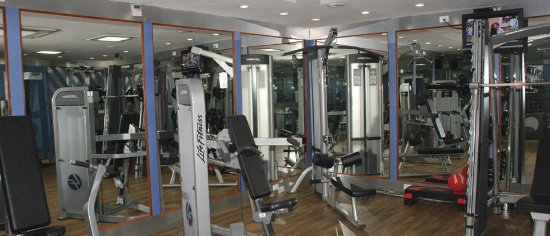 Hotel Sandesh The Prince: Body fitness