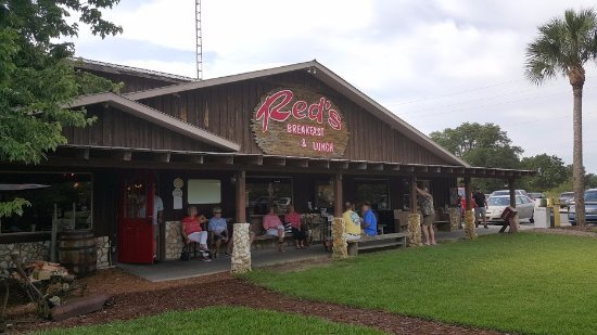 Hernando, FL: Front of Red's