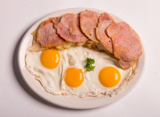 John's Restaurant: Big Bacon Breakfast